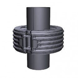 Flexible pipe float / dredging float