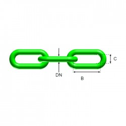 Long Link Chain 5xD, ND20