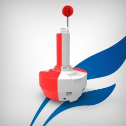 FLC1500 Isolated danger buoy