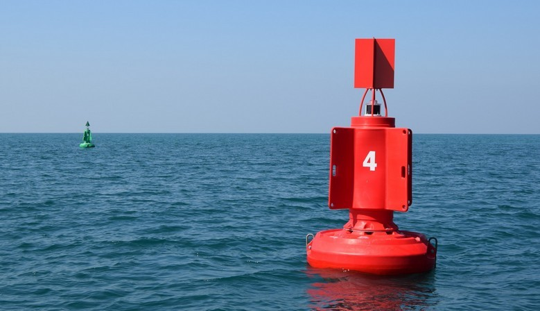 FLC1800 lateral buoy high visibility