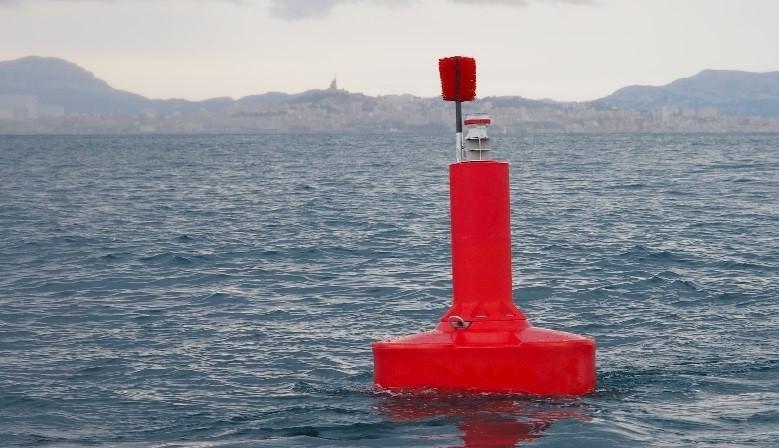 FullOceans FLC1500 navigation aid buoy